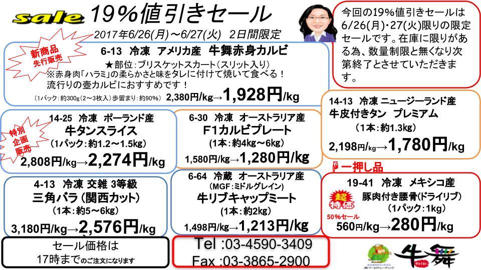 2017年6月19%セール(修正済).ppt